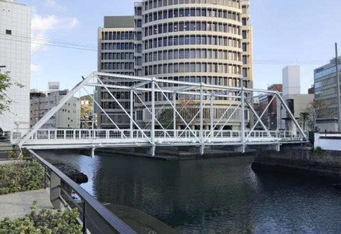 長崎市の「出島橋」
