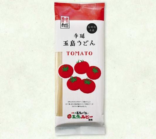 五島手延トマトうどん 画像はますだ製麺ホームページより